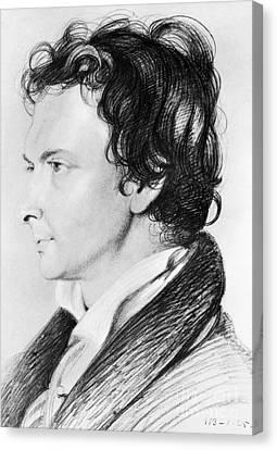 William Hazlitt (1778-1830) Canvas Print by Granger