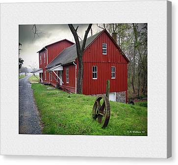 Williston Mill Canvas Print by Brian Wallace