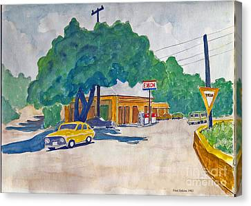 Wimberley Texas  Canvas Print by Fred Jinkins
