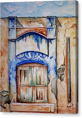 Window From Santiago Canvas Print
