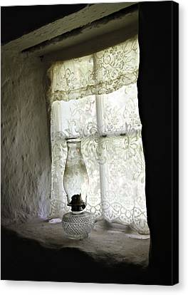 Window Light Canvas Print by Julie Williams