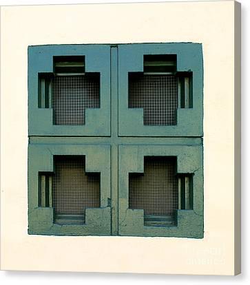 Windows Canvas Print by Henrik Lehnerer
