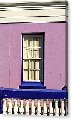 Windows Of Bo-kaap Canvas Print by Benjamin Matthijs