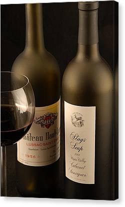 Wine Labels Canvas Print