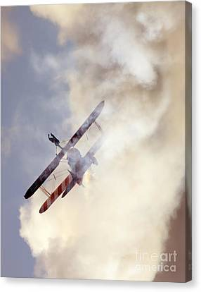 Wingwalker Canvas Print by Angel  Tarantella