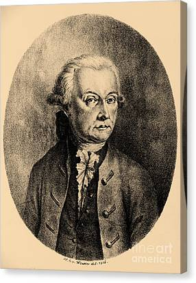 Wolfgang Amadeus Mozart, Austrian Canvas Print by Photo Researchers, Inc.
