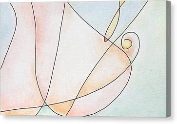 Woman Canvas Print by Dave Martsolf