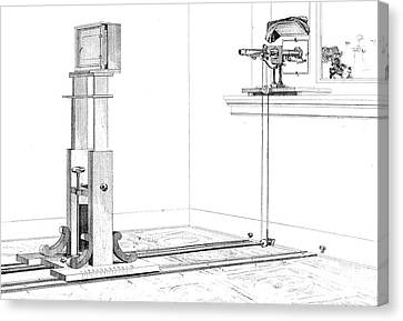 Woodwards Photomicrography Apparatus Canvas Print by Science Source