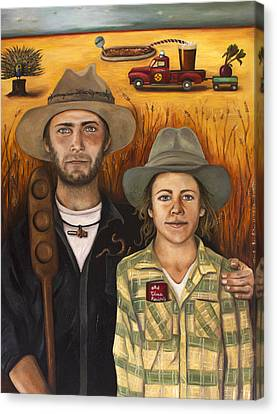 Zeb And Ellen Canvas Print