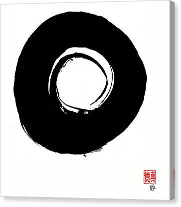 Zen Circle Six Canvas Print by Peter Cutler