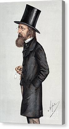 Alfred Tennyson (1809-1892) Canvas Print by Granger