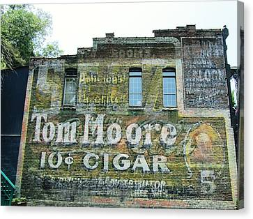 10 Cent Cigar Canvas Print by Todd Sherlock