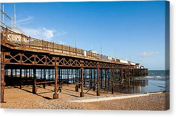Hastings Pier Canvas Print by Dawn OConnor