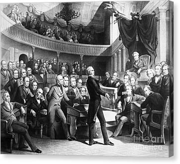 Great Compromise Canvas Print - Henry Clay (1777-1852) by Granger