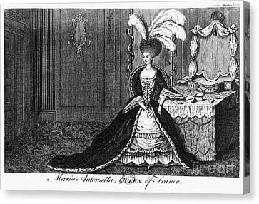 Marie Antoinette (1755-1793) Canvas Print by Granger