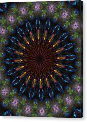 10 Minute Art 120611a Canvas Print by David Lane