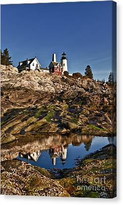 Pemaquid Point Lighthouse Canvas Print by John Greim