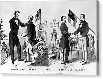 Presidential Campaign: 1864 Canvas Print by Granger