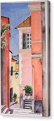 1000steps Canvas Print by Regina Ammerman