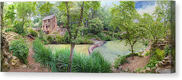 1007-2789 Old Mill  Canvas Print by Randy Forrester