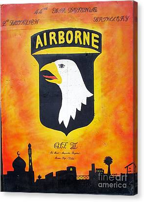 101st Airborne - Oif IIi Canvas Print by Unknown