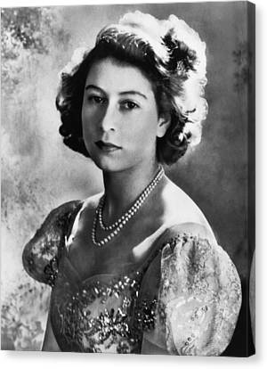 British Royalty. Future Queen Canvas Print by Everett