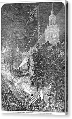 Centennial Fair, 1876 Canvas Print by Granger