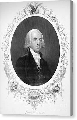 James Madison (1751-1836) Canvas Print by Granger