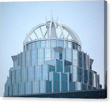 Canvas Print featuring the photograph 111 Huntington Ave - Boston by Mary McAvoy