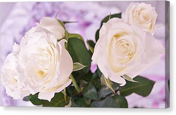 Roses For You Canvas Print by Gornganogphatchara Kalapun