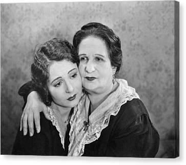 Silent Film Still: Women Canvas Print by Granger