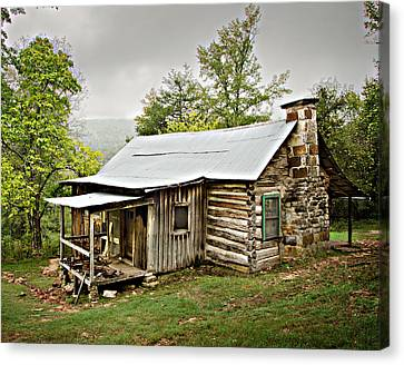 1209-1144 Historic Villines Homestead Canvas Print by Randy Forrester
