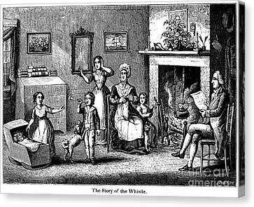 Benjamin Franklin Canvas Print by Granger