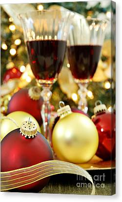 Christmas Canvas Print by HD Connelly