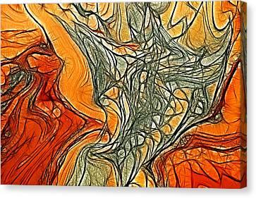 Magic Background Canvas Print by Odon Czintos