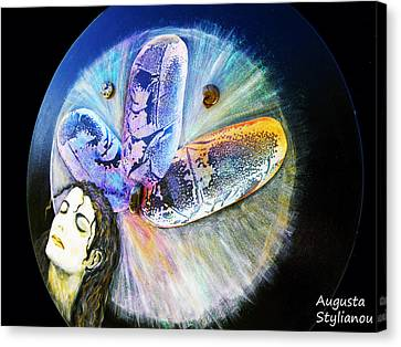 Michael Jackson Canvas Print by Augusta Stylianou