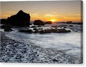 Beach In Milfontes Canvas Print
