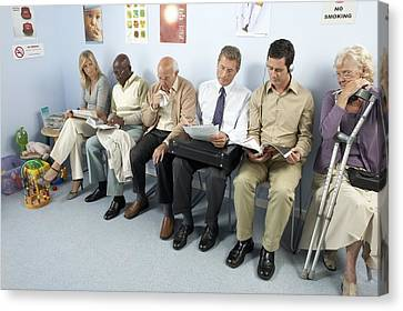General Practice Waiting Room Canvas Print by Adam Gault