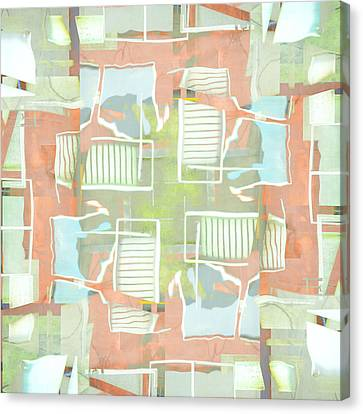 Urban Abstract San Diego Canvas Print by Carol Leigh