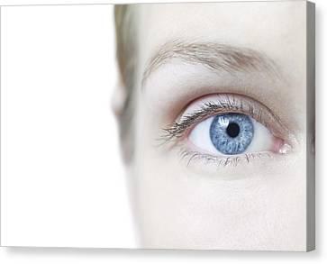 Woman's Eye Canvas Print by
