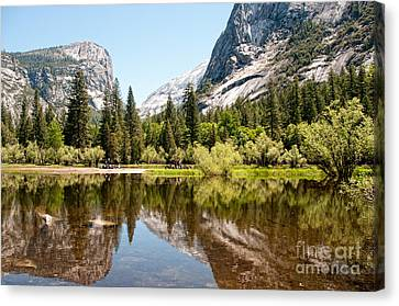 Yosemite Canvas Print by Carol Ailles