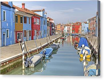 Burano Canvas Print by Joana Kruse