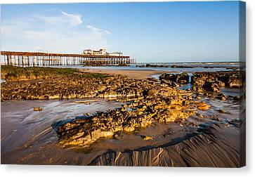 Hastings Pier Canvas Print by Dawn OConnor