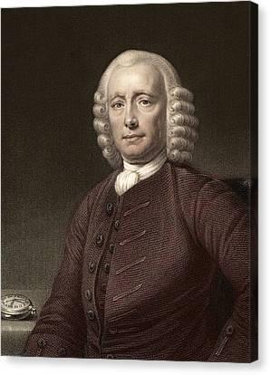 1767 John Harrison & Marine Timekeeper H4 Canvas Print by Paul D Stewart