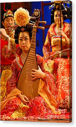 Asian Splendors Series Canvas Print by Terry Troupe