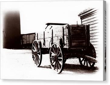 1900 Wagon Canvas Print by Marcin and Dawid Witukiewicz