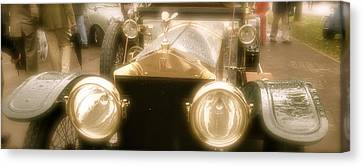 Canvas Print featuring the photograph 1920s Rolls Royce Detail by John Colley