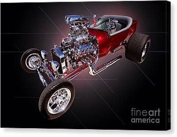 1923 Classic Ford T Bucket Canvas Print by Jim Carrell