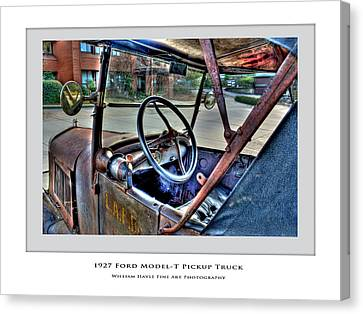 1927 Model-t Canvas Print by William Havle