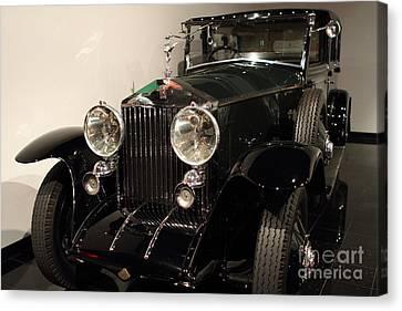 1927 Rolls Royce Phantom 1 Towncar - 7d17195 Canvas Print by Wingsdomain Art and Photography